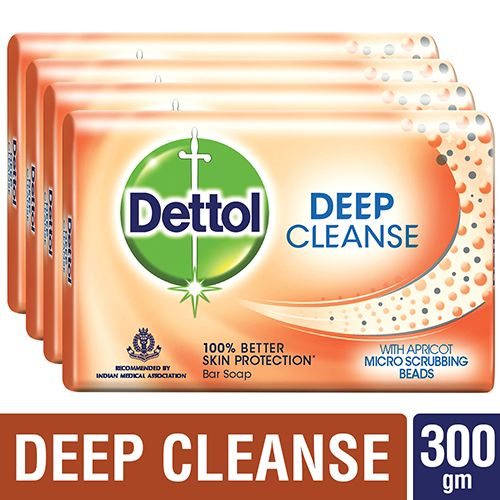 Dettol Germ Protection Bathing Soap - Deep Cleanse, 75 gm