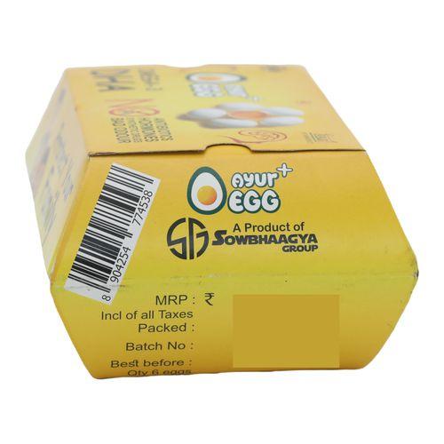 Ayur Plus Eggs, 6 pcs