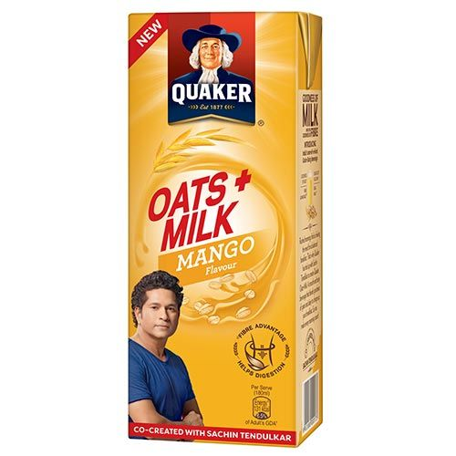 Buy Quaker Oats Milk Mango Flavour 180 Ml Online At Best ...