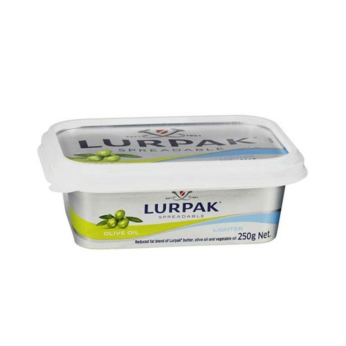 LURPAK Butter Spreadable - Light Olive Oil, 250 g