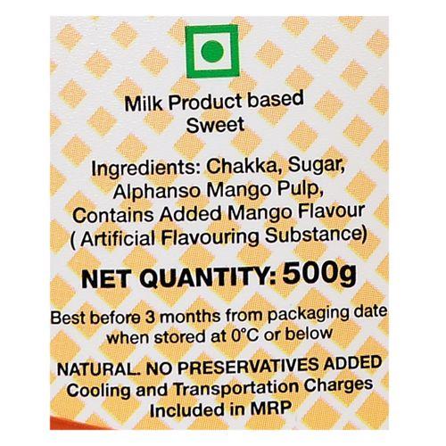 Modern Dairy Amrakhand, 500 gm