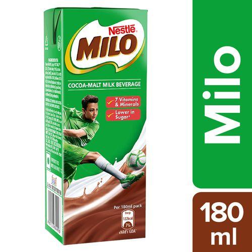 Buy Nestle Flavoured Milk Milo 180 Ml Online At Best Price