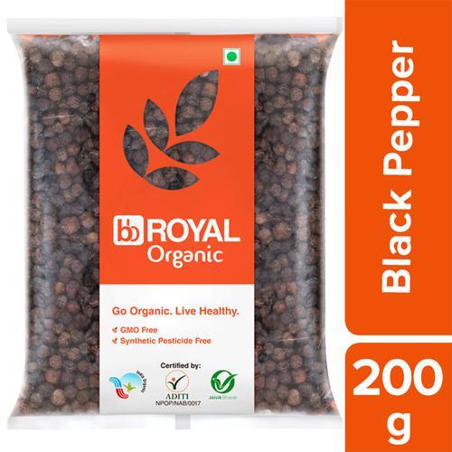 BB Royal Organic Black Pepper/Kari Menasui, 200 g