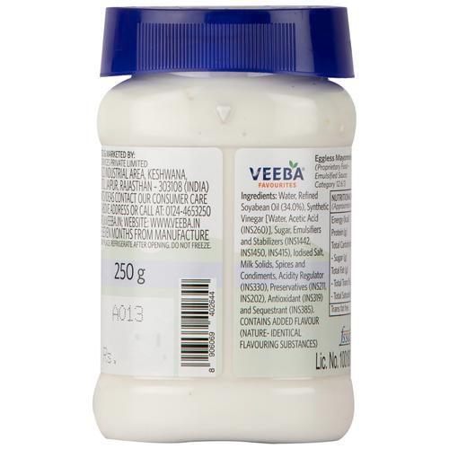 Veeba Mayonnaise - Eggless, 250 g
