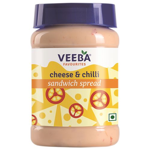 Veeba Sandwich Spread - Cheese & Chilli, 275 g