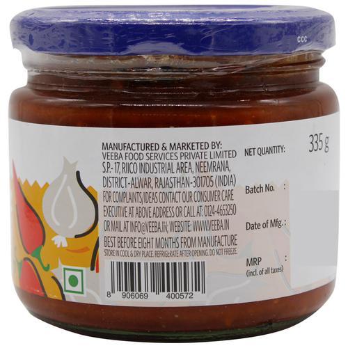 Veeba Dip - Garlic Chilli Spread, 335 g