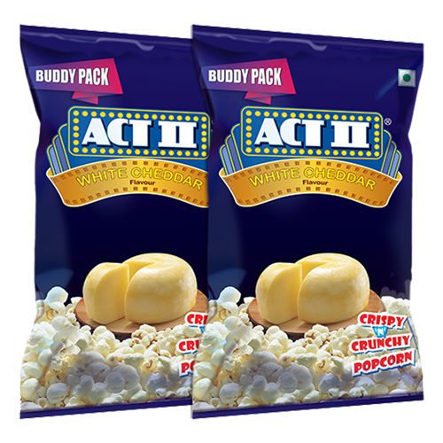 ACT II Instant Popcorn - White Cheddar, 100 g Buy 1 & Get 1 Free