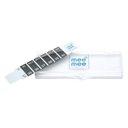 Mee Mee Accurate Thermometer - Forehead, White, 20 g Pack of 2