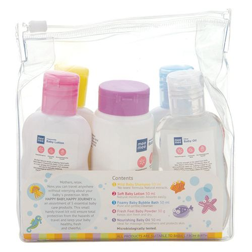 Mee Mee Baby Care Travel Kit, 300 g Pack of 5