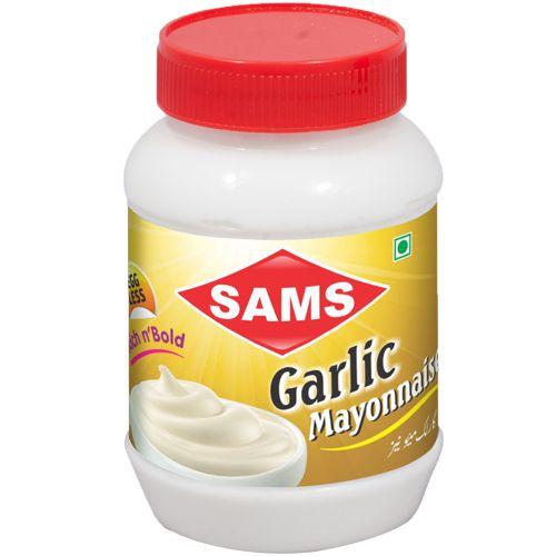 SAMS Mayonnaise - Garlic, 300 g