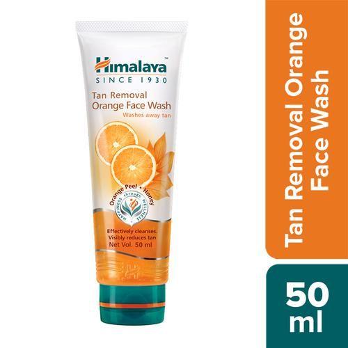 Himalaya Tan Removal Orange Face Wash, 50 ml