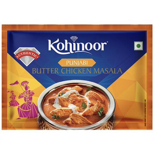 Kohinoor Ready Masala - Punjabi Butter Chicken, 15 g
