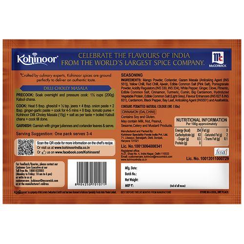 Kohinoor Ready Masala - Dilli Choley, 15 gm