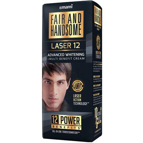 FAIR AND HANDSOME Cream - Advanced Whitening + Multi Benefit, LASER 12, 60 gm