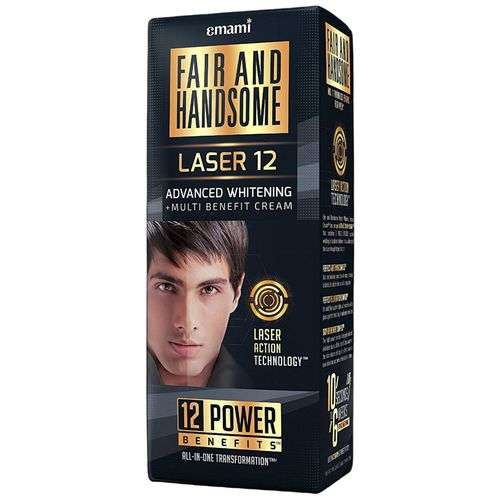 FAIR AND HANDSOME Cream - Advanced Whitening + Multi Benefit, LASER 12, 30 g