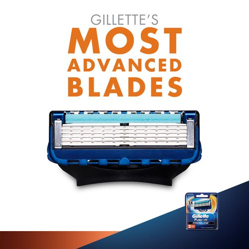 Gillette Fusion Proglide - Flexball Manual Shaving Razor Blades Cartridge, 2 pcs