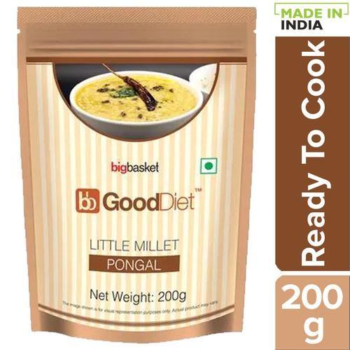 Buy Gooddiet Breakfast Mix Little Millet Pongal 200 Gm Online At Best Price Bigbasket