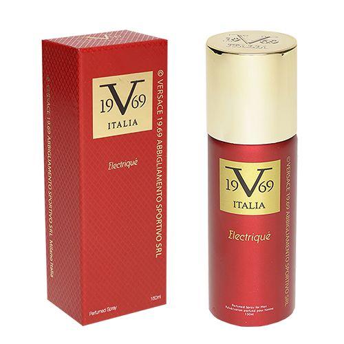 Versace V1969 Italia Electrique Perfume Spray 150 Ml