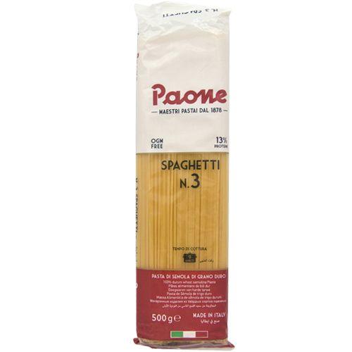 Paone Pasta - Spaghetti, 500 g Pillow Pouch