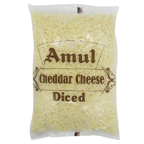 Amul Cheese - Cheddar, Diced, 1 kg