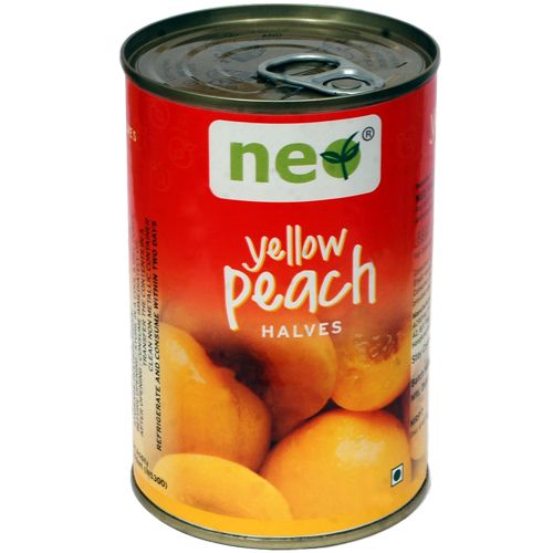 Neo Yellow Peach - Half, 425 g Tin