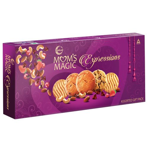 Sunfeast Gift Pack - Moms Magic Expressions, Purple, 500 g