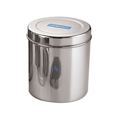 Neelam Canister Deep Dabba Storage Container Stainless Steel Diamond No 13 1 Pc