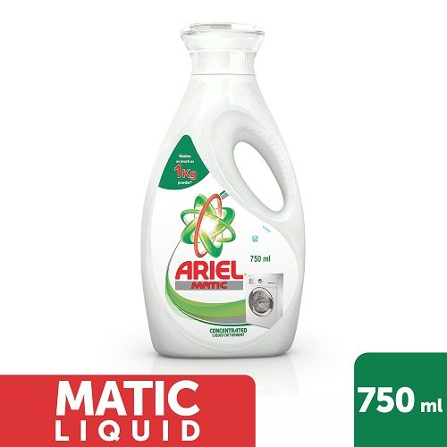Ariel  Matic Liquid Detergent, 750 ml