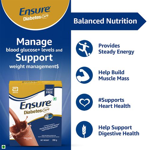Ensure Diabetes Care - Chocolate, 200 g