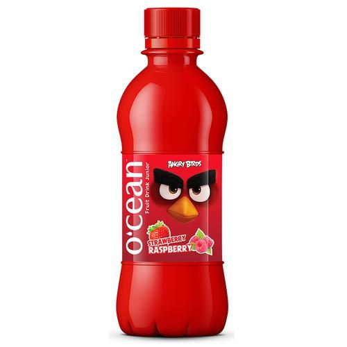 Ocean Fruit Wave - Strawberry Raspberry Flavour, For Kids, 300 ml