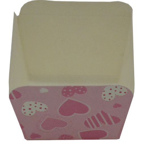 DP Mould - Paper Baking Cups, Muffins/Cake, Heart Design, 15 Moulds, 15 pcs