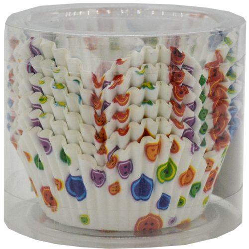 DP Mould - Paper Baking Cups, Muffins/Cake, Floral, 100 Moulds, 100 pcs