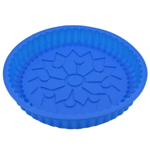 DP Silicon Chocolate Baking Mould - Blue, 1 pc