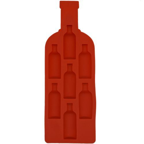 Yongsheng Chocolate/Ice Mould - Bottle, Red, Silicon, 1 pc
