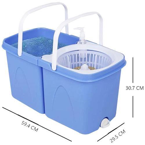 Gala Spin Mop - Twin Bucket, 1 pc