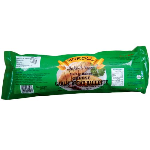 Unroll Baguette - Garlic Bread, Cheese, 280 g