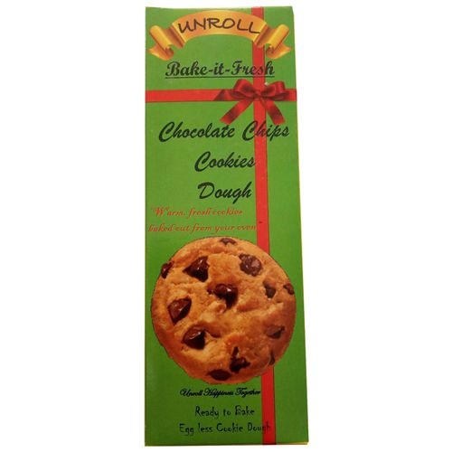 Unroll Cookies Dough - Chocolate Chips, 360 g