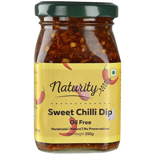 Naturity Sweet Chilly Dip, Oil Free, 250 g
