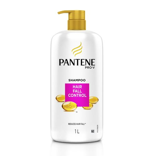 buy pantene shampoo hair fall control 1 l online at best price
