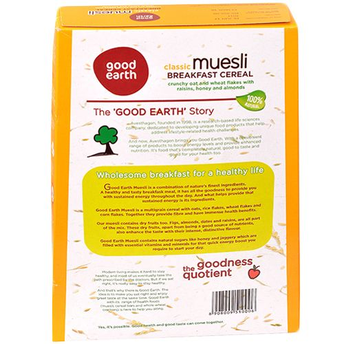 Good Earth Classic Muesli, 400 g