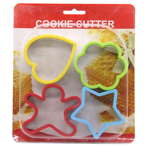 DP Cookie Cutter Mould - Plastic, 4 pcs