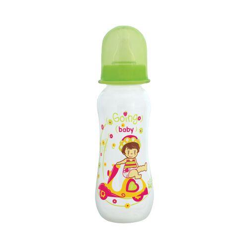 Mee Mee Feeding Bottle - Premium, Green, 250 ml