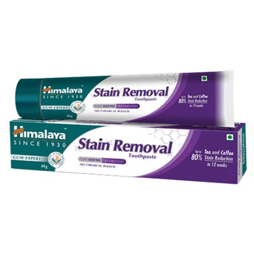 Buy Himalaya Toothpaste Stain Removal 80 Gm Online At Best
