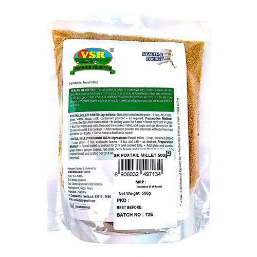 Vsr Foxtail Millet, 500 g