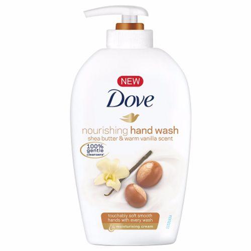 Dove Handwash - Shea Butter & Warm Vanilla Scent, 220 ml