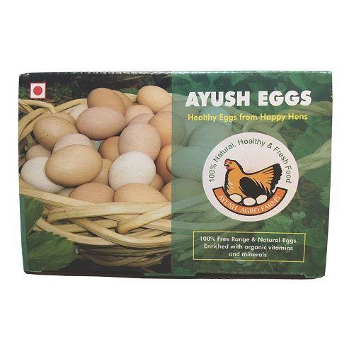 Ayush Eggs Eggs - Free range, 6 pcs