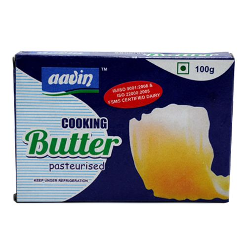 Aavin Butter - Cooking, Pasteurised, 100 g