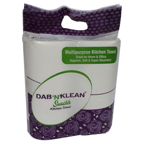 Dab-N-Klean Paper Towel - Kitchen, 2 Ply, 2 rolls Buy 1 Get 1 Free
