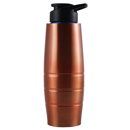 Tallboy Water Bottle - With Sipper Cap, Copper Colour, Duro Steel, 1 L