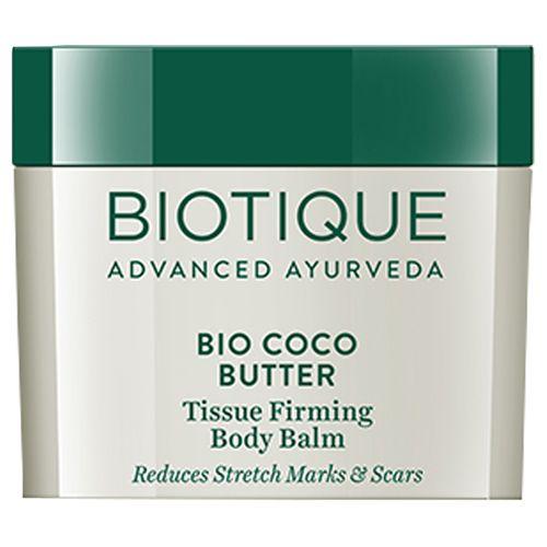 BIOTIQUE Bio Coco Butter Tissue Firming Body Balm, 50 gm